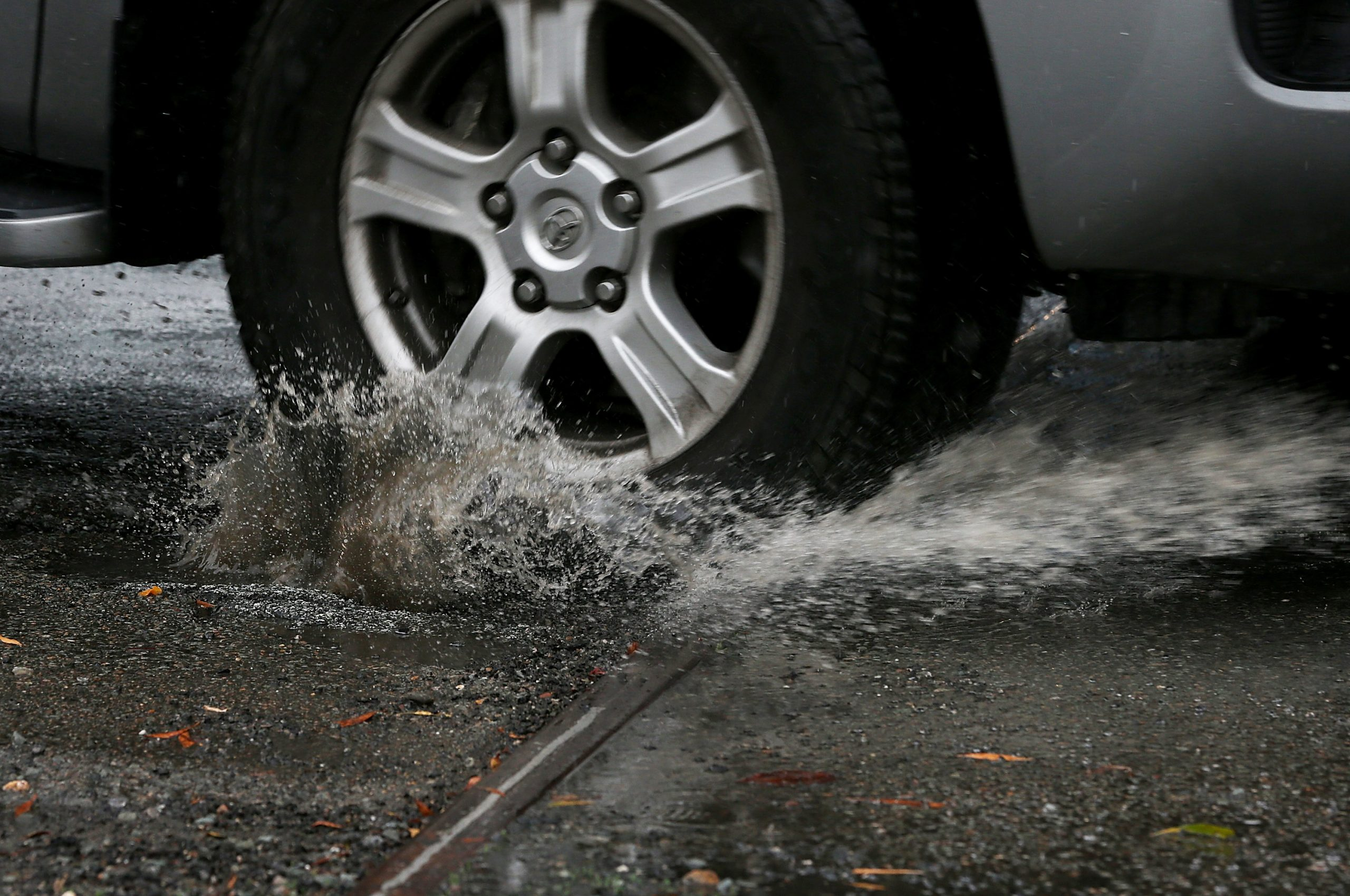 Car Tires vs. Potholes