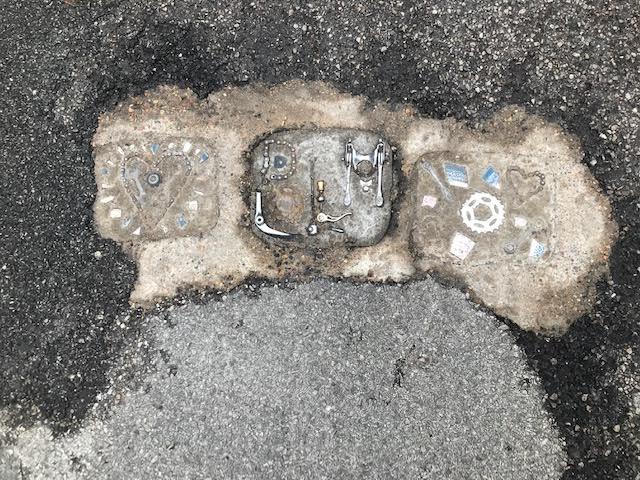 Arty potholes, improved safety?